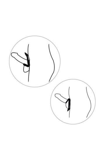 Двойное эрекционное кольцо на пенис Levett Marcus