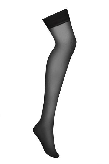 Классические чулки с гладкой плотной резинкой