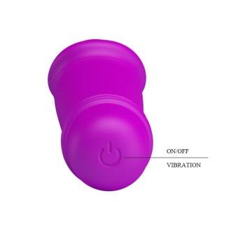 Мини-вибратор Emily с 10 видами вибрации - 12,7 см.