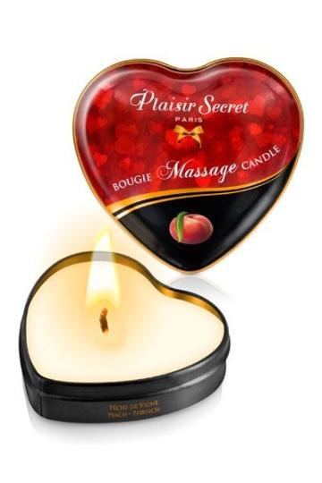 Массажная свеча с ароматом персика Bougie Massage Candle - 35 мл.