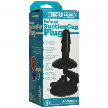 Плаг на присоске Vac-U-Lock Deluxe Suction Cup Plug Accessory