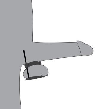 Металлический зажим на мошонку Stainless Steel Ball Crusher